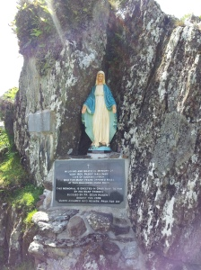 Statue of the Blessed Virgin at Mass Rock