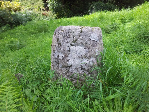 Medieval Cross Slab at Hollywood