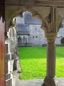 View of the cloister