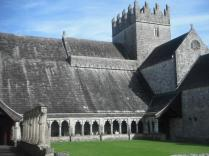 View of Church from Cloister
