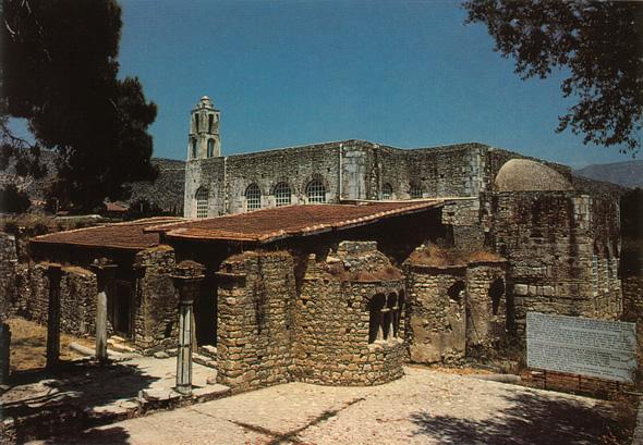 The church of St Nicholas at Myra (http://www.sacred-destinations.com/turkey/kale-church-of-st-nicholas-myra.htm)