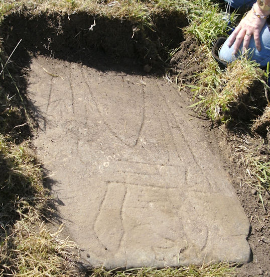 Second medieval slab http://www.igrsoc.org/tomb_find.htm