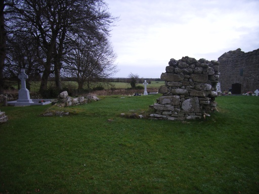 St Manchan's house