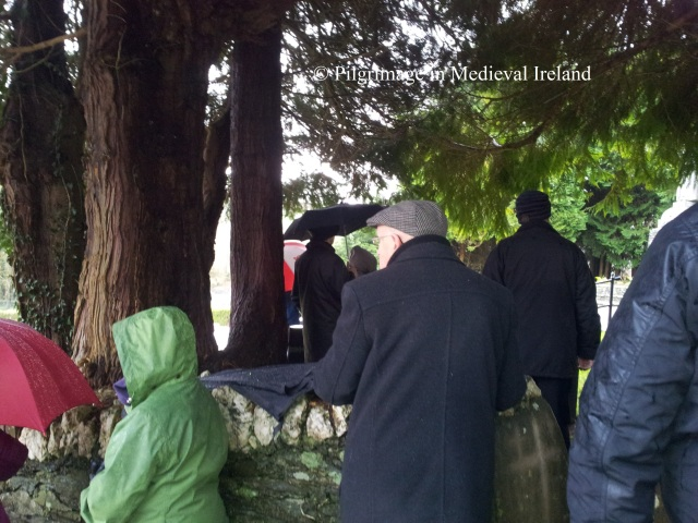 Pilgrim's at the Rosary  at Ballyvourney