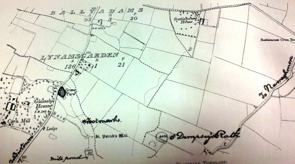 Map of the area  by FitzGerald  created in 1912.