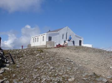 Pl.3 Modern church on summit of Croagh Patrick