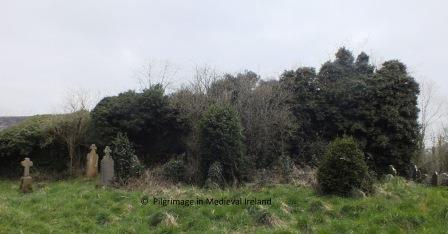 East gable and south wall of Kilronan church