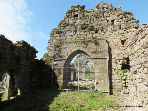 Arch between  chancel and nave