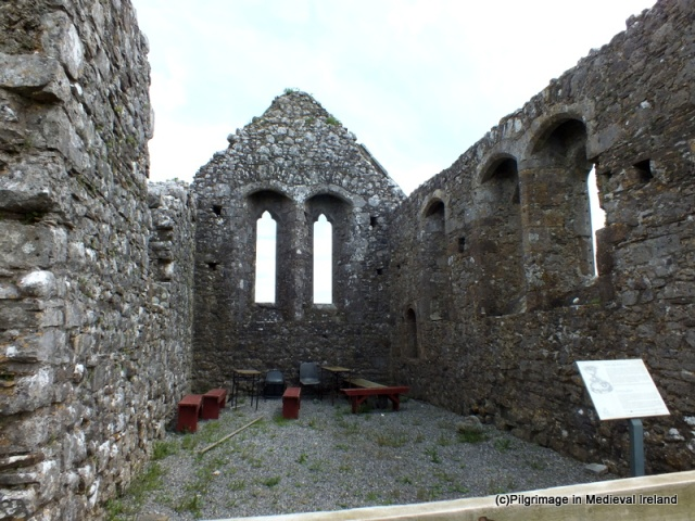 Interior of Derrynaflan Church