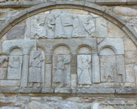 Three Magi at Ardmore Cathedral