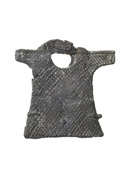Late 15th century pilgrim badge from Aachen at Museumof London (http://collections.museumoflondon.org.uk/Online/object.aspx?objectID=object-37968&start=120&rows=1)