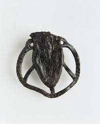 Pilgrim ampulla found in excavations at High Street, Dublin in the late 1960s. The object is thought to date c.1225–50. © The National Museum of Ireland, published with permission