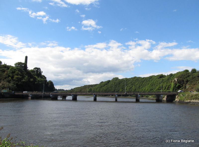 The River Slaney formed the northern park boundary at   Carrick, Co. Wexford