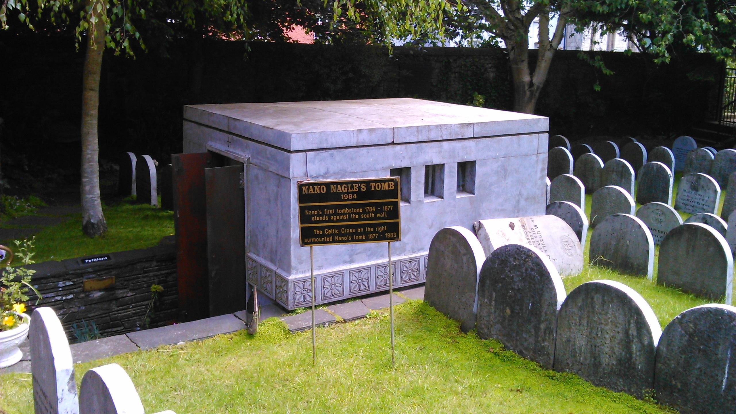 Nano Nagle's tomb