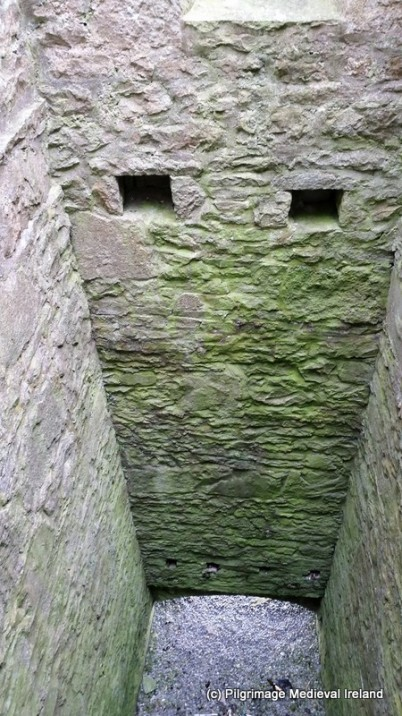 Interior of tower at Urlaur