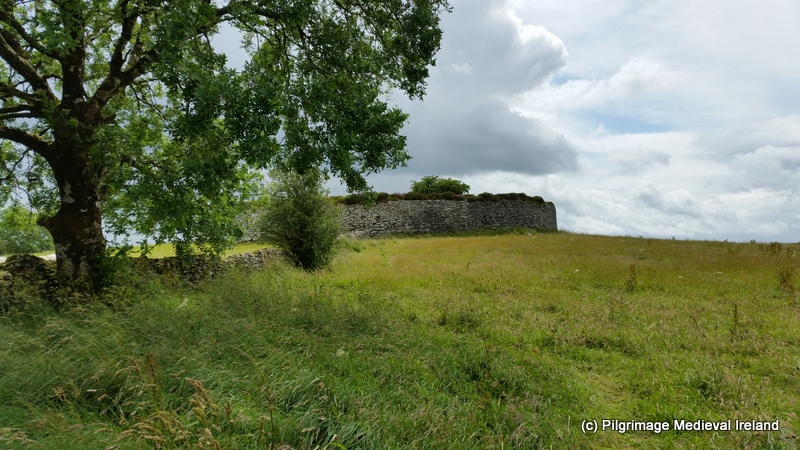 View of exterior of Caiseal ringfort