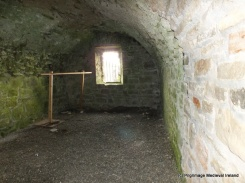 Vaulted room at Urlaur Friary