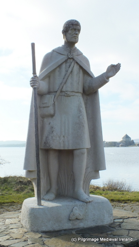 Statue of St Patrick Lough Derg Co Donegal