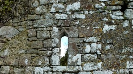 Window in the west gable of Kilmolash church