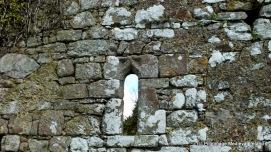 Window in the west gable of Kilmolash church