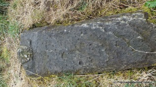 Medieval graveslab at Kilmolash