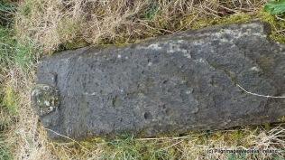 Medieval graveslab at Kilmolash