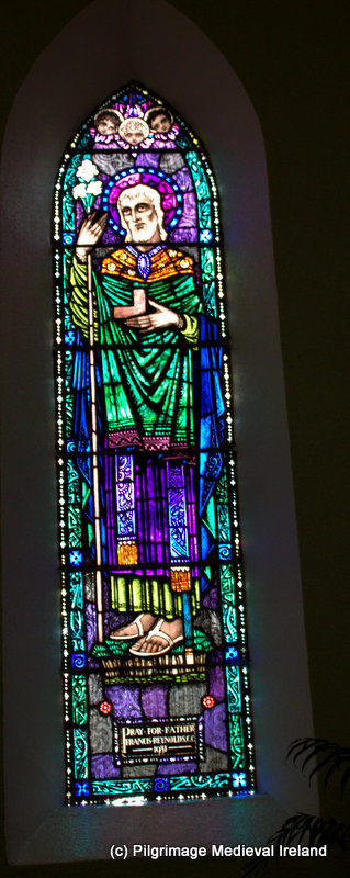 Harry Clarke window of St Joseph