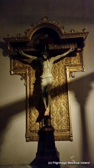 Crucifixion side chapel at Monserrat Bascilica