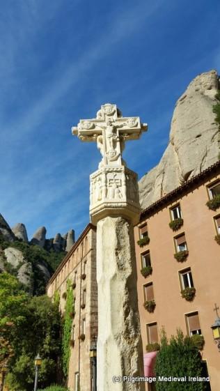 Replica of Medieval Cross at Monserrat
