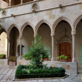 Part of the Medieval Cloister at Monserrat