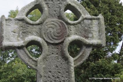 Western wheel of face high cross at Killamery