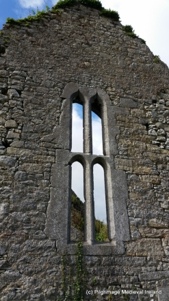 Window in the east gable of St Mary's church Cahir