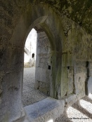 Doorway into the nave church at Askeaton Friary.