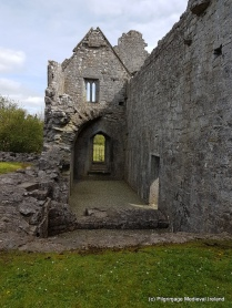 View of sacristry at Askeaton Friary.
