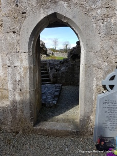 Doorway leading to the sacristry at Askeaton Friary.