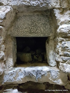 Possible oven in the east range of Askeaton Friary.