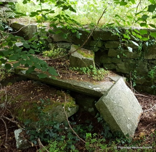 Part of Late medieval chest tomb at Kilkea Church.