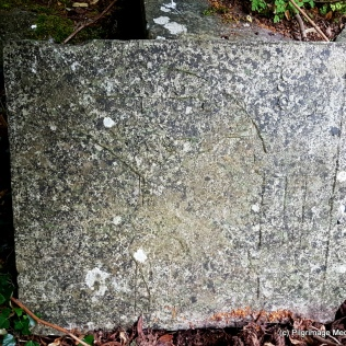 Part of Late medieval chest tomb at Kilkea Church