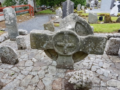 West face of head of high cross