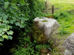 Bullaun stone at Clonmore