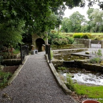 St Mogue's holy well and prayer garden Clonmore