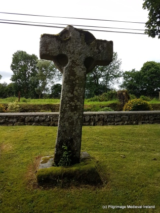 North face of St Mogue's Cross