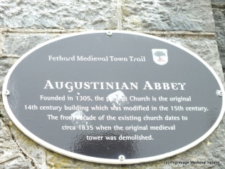 The Medieval Augustinian Abbey of Fethard
