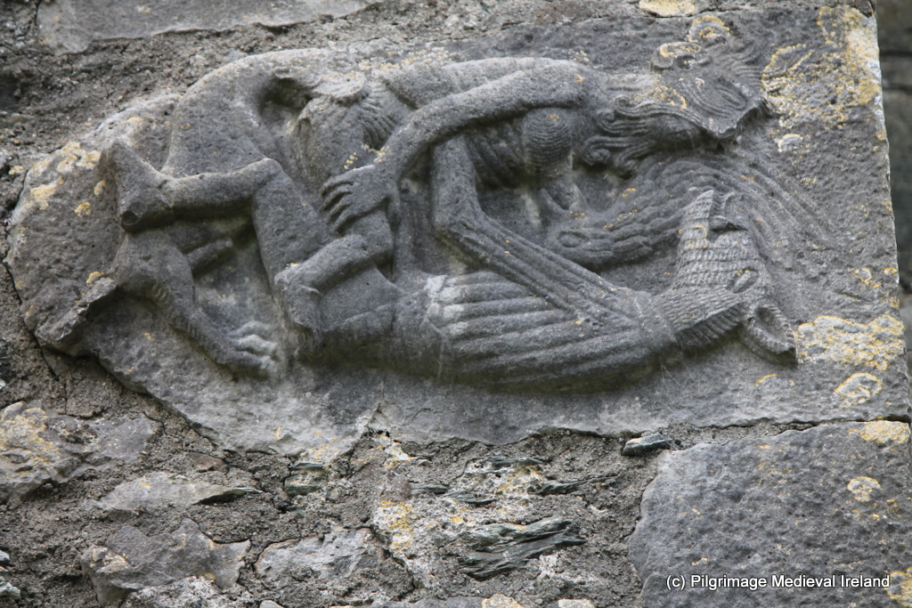 Monkeys mermaids and the evil eye medieval stone