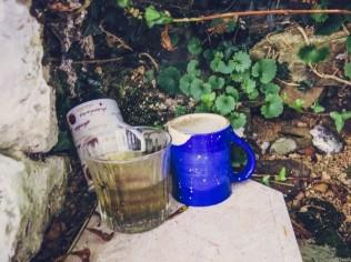 Cups beside Tobar Mhuire