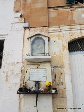 Religious Image at Lvant, Valletta