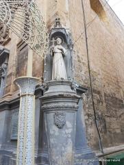 Statue of St.Francis, Valletta Malta
