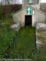 Trough at front of St Patrick's Holy Well Knockpatrick