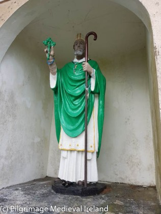 Statue of St Patrick at Knockpatrick
